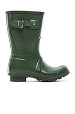 Hunter Original Short Rain Boot in Hunter Green