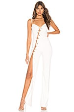h:ours Alba Jumpsuit in Ivory