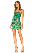 h:ours Damien Dress in Emerald