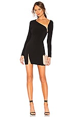 h:ours Surrender Dress in Black