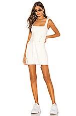 h:ours Cambri Mini Dress in White