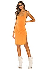 h:ours Tezza Dress in Orange