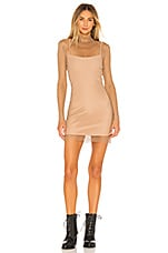 h:ours Hype Dress in Nude