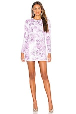 h:ours Julinha Dress in Lavender