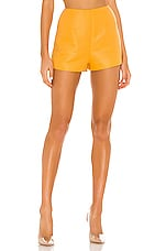 h:ours Tori Shorts in Orange Creme