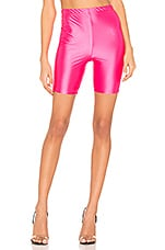 h:ours Tre Biker Shorts in Neon Pink