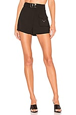 h:ours Rookie Shorts in Black