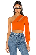 h:ours Lillian Sweater in Orange