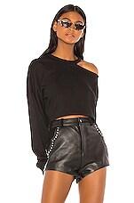 h:ours Byron Sweatshirt in Black