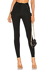 h:ours High and Wide Legging in Black