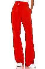 h:ours Lucy Pant in Fiery Red