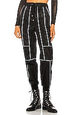 h:ours Kane Pant in Black