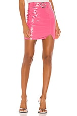 h:ours Peppa Mini Skirt in Bubble Gum Pink