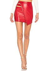 h:ours Pierre Skirt in Crimson