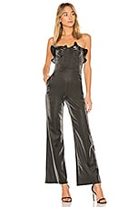 h:ours Simone Jumpsuit in Silver