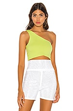 h:ours Amy Top in Lime