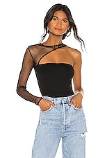 h:ours Jeffrey Bodysuit in Black