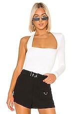 h:ours Avon Bodysuit in White