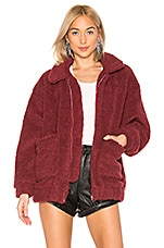 I.AM.GIA Pixie Jacket in Burgundy