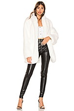 I.AM.GIA Nya Faux Fur Jacket in White