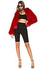 I.AM.GIA 717 Faux Fur Jacket in Red