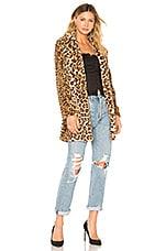 I.AM.GIA Sahara Faux Fur Coat in Leopard