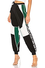 I.AM.GIA Electra Pant in Black, Green & White