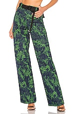 I.AM.GIA Sinead Pant in Green Tiger