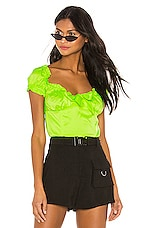 I.AM.GIA Naomi Top in Neon Green