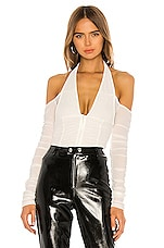 I.AM.GIA Diego Top in White