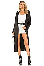 ICONS Objects of Devotion PJ Robe in Black