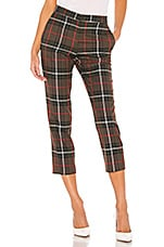 ICONS Objects of Devotion Flat Front Trouser in Army Tartan