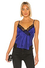 ICONS Objects of Devotion Lace Trim Cami in Indigo