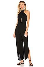 Indah Pearl Jumpsuit in Black