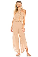 Indah Pearl Jumpsuit in Nude