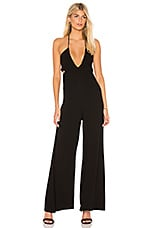 Indah Jagger Jumpsuit in Black