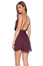 Tahani Cocktail Dress in Plum
