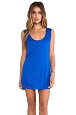 Jaya Jersey Dress in Cobalt