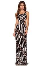 Tamaa Seamless Maxi Dress in Zulu