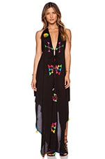 Imani Maxi Dress in Black