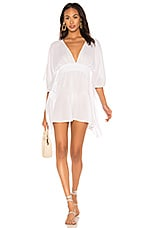Indah Avalon Mini Dress in White
