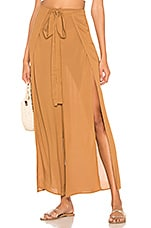 Indah Eclipse Wrap Pant in Caramel