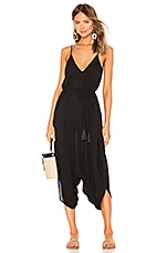 Indah Ivory All in One Jumpsuit in Black