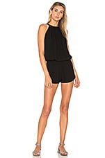 Indah Sherry Romper in Black