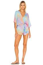 Indah X REVOLVE Sunday Romper in Pastel Tie Dye