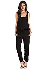 Rhodes Simple Tank Jumpsuit in Black