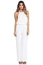 Tang Open Back Jumpsuit en Blanc