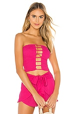 Indah X REVOLVE Shell Smock Top in Pink Glo