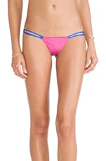 Hi-Fi Bikini in Fuchsia & Royal Blue