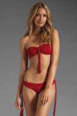 Bandeau With Fringe Knot in Shiraz